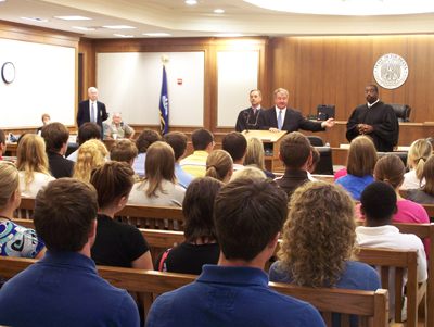 First Circuit Court of Appeals Welcomes Student Visitors
