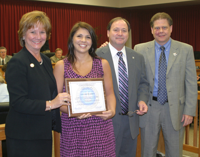 Amanda Warren Honored By Parish Government