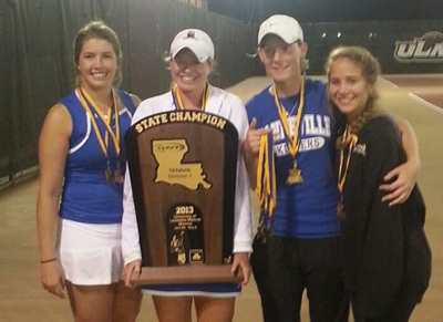 Mandeville High Girls Tennis Team Wins State Championship