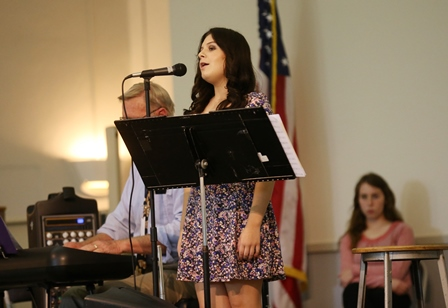 CHS Students Perform at Teachers of the Year Luncheon