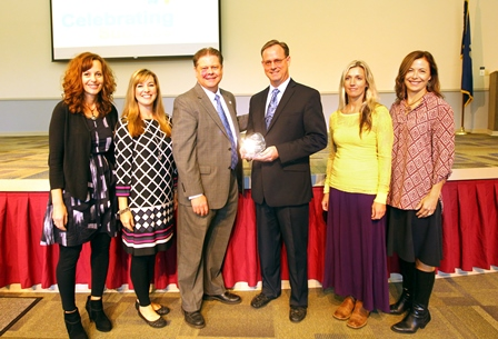 Tchefuncte Middle School Receives Celebrating Success Award