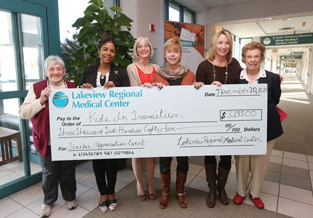 Care for KIT Receives Donation from Lakeview Regional Medical Center